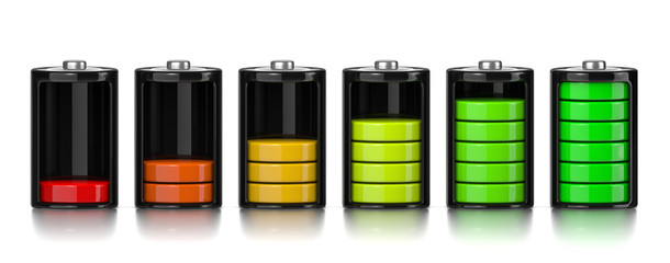 Charge Levels Battery Set
