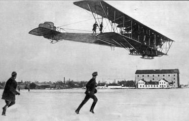 Russian plane Sikorsky Ilya Muromets ca. 1913