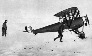 Nieuport fighter plane of World War I