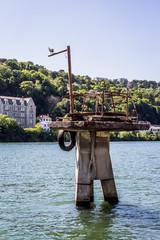 Sur les bord de la Saône à Confluence, Lyon