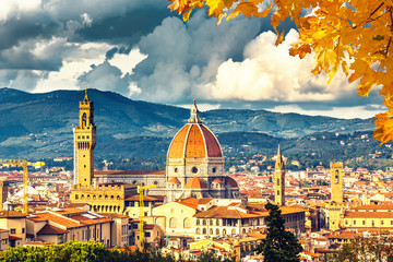 Fotomurales - View on Florence