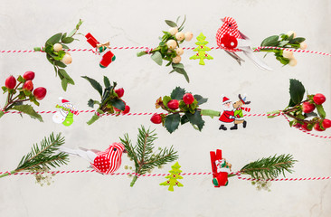 Natural Christmas  garlands