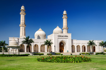 Sultan Qaboos Grand Mosque, Salalah / The largest mosque in the southern part of Sultanate Oman