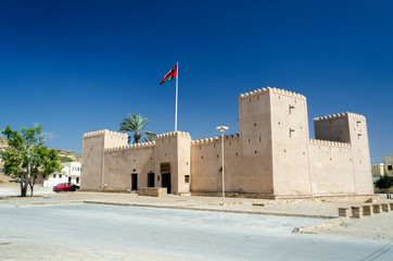Taqah Fort / The most popular castle to visit in the region of Dhofar in the South of Sultanate of Oman