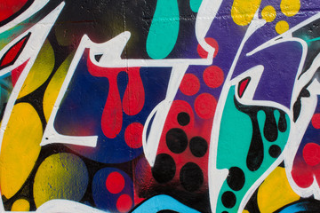 graffiti painting closeup.graffiti artwork macro
