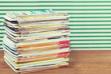 Magazine Stack.