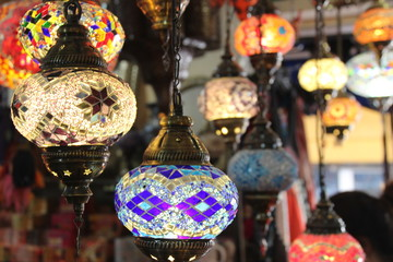 Foto op Canvas Marokko Lights of Morocco
