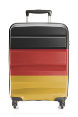 Suitcase with national flag series - Germany