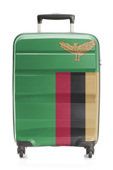 Suitcase with national flag series - Zambia