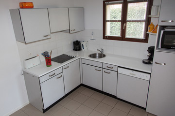 Modern kitchen, in a house