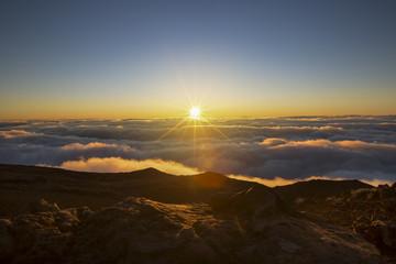 Sunrise au Piton des Neiges