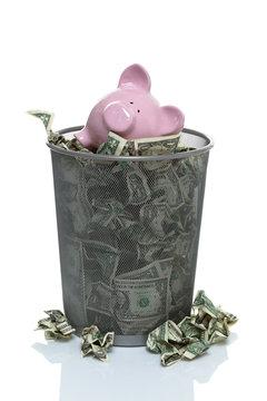 Throwing your savings away