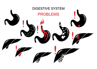 problems of the digestive system