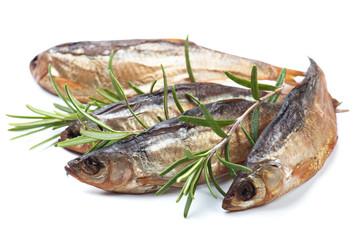 Smoked or dried fish