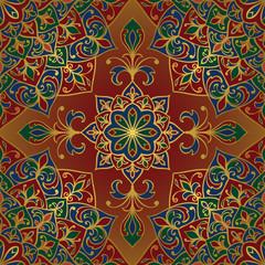 Rich, vector ornamental pattern.