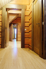 Interior of a corridor in the hotel