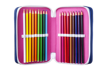 Crayon Case Isolated