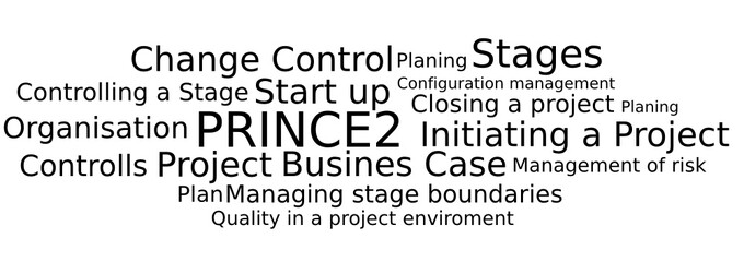Prince2 Tagcloud