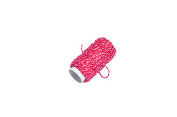 Thread on white isolated background