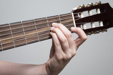 Guitar chord A