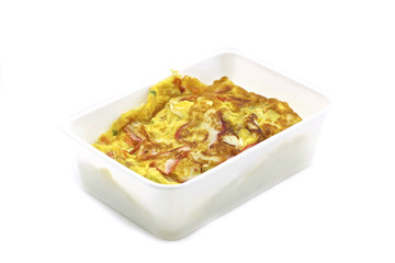 Omelet with rice