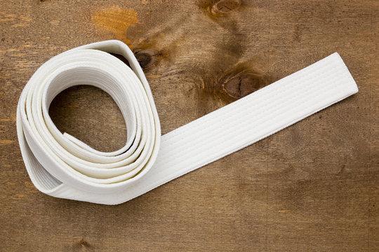 White belt martial arts