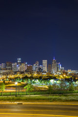 Denver downtown panorama, Colorado