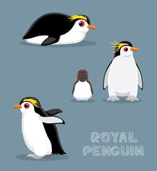 Macaroni Penguin Cartoon Vector Illustration Buy This Stock Vector