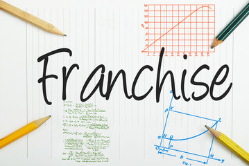 Franchise written in the notebook