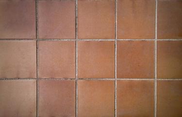 Orange Square Bricks background