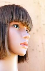 mannequin femme tête