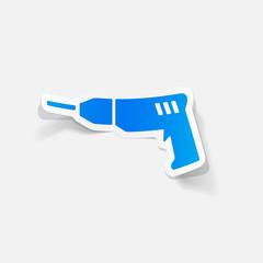 realistic design element: drill