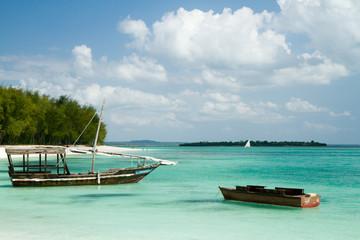 Poster Zanzibar nungwi beach in zanzibar tanzania