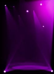 Fototapete - Purple stage background