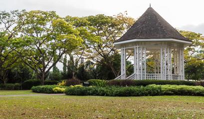 gazebo in the Botanic Garden