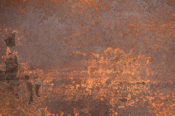 rusty metal Wall mural