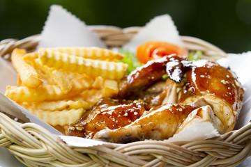 Malay roasted chicken