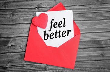 Feel better word