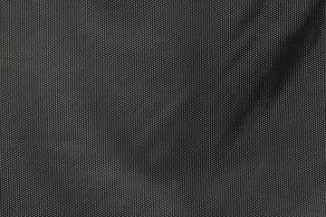 Closeup fabric at the black bag background