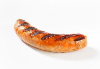 Grilled bratwurst