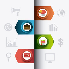 Business growth and money savings statistics