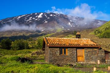 Refuge in the mountains - Mount Etna