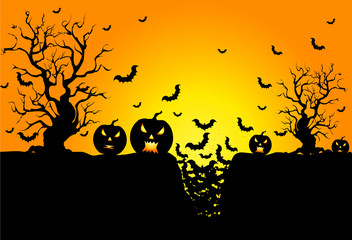 Background for Halloween day celebrations.