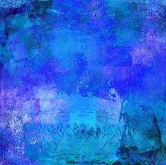 malerei graphik texturen blau