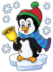 Christmas penguin topic image 1
