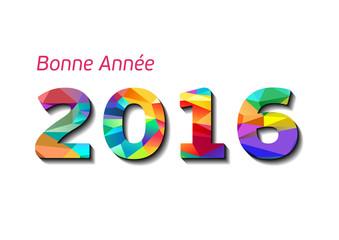 Carte de Voeux 2016  - Bonne Année