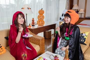 ハロウィン女子パーティー