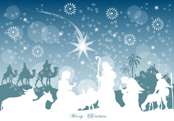 Natività sotto la Neve - Merry Christmas