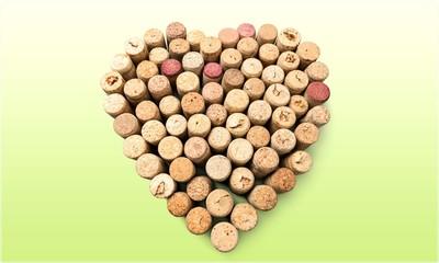 Heart Shape Cork.