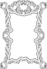 Acanthus vintage fine frameAcanthus vintage fine frame